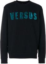 Versus textured logo sweatshirt