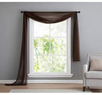 VCNY Home Infinity Sheer Curtain Scarf Panel