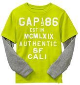Gap Logo double layer T