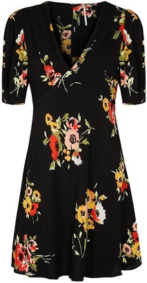 Free People Black Polyester Dresses