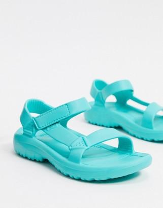 Teva Hurricane Drift sandals in turquoise