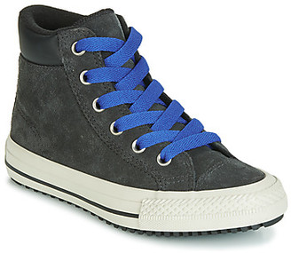 Converse CHUCK TAYLOR ALL STAR PC BOOT BOOTS ON MARS SUEDE HI girls's Shoes (High-top Trainers) in Black
