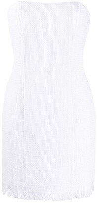 FEDERICA TOSI Strapless Cocktail Dress