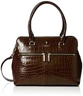 Modalu Womens Pippa Top-Handle Bag Oyster Croc