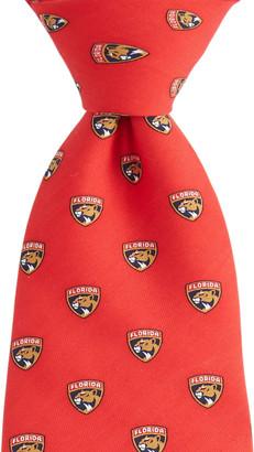 Vineyard Vines Florida Panthers Logo Boys Tie