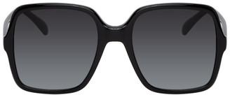 Givenchy Black Oversized Square Sunglasses