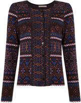 Cecilia Prado knitted cardigan - women - Acrylic/Polyamide/Polyester/Viscose - P
