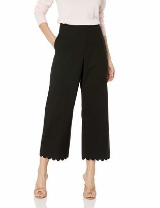 Rebecca Taylor Women's High Waist Cropped Pants