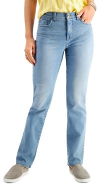 Style&Co. Style & Co Plus Size Straight-Leg Jeans, Created for Macy's