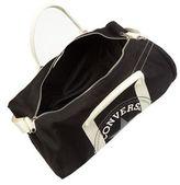 Converse Black Graphic Logo Print Duffle Bag