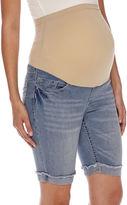 Asstd National Brand Maternity Overbelly Bermuda Shorts