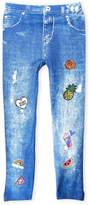 capelli new york (Girls 7-16) Denim-Look Leggings
