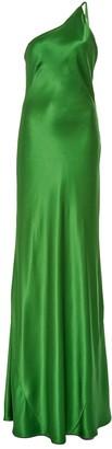 Galvan Green Roxy Evening Gown