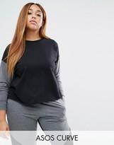 Asos Contrast Sweatshirt Co-Ord