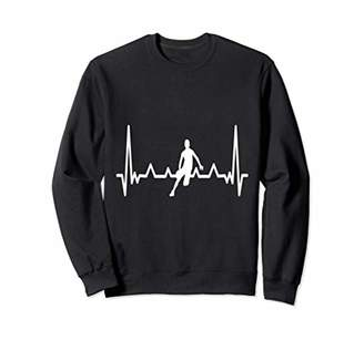 Basketball frequency heartbeat Sweatshirt