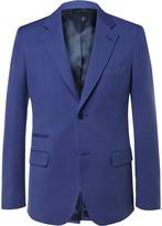 Stella McCartney Blue Slim-Fit Woven Suit Jacket