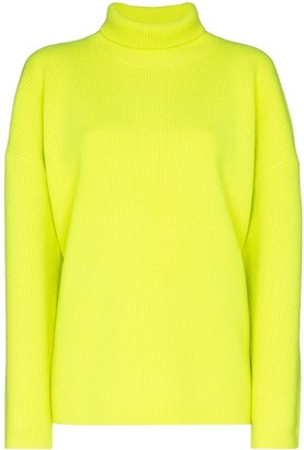 Sies Marjan Fluorescent Knit Roll Neck Jumper