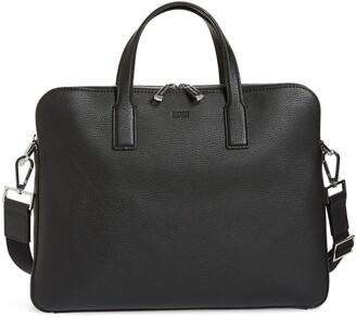 HUGO BOSS Crosstown Leather Document Case