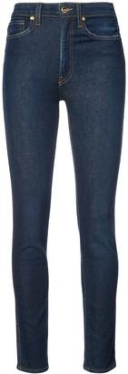 KHAITE High-Rise Super Skinny Jeans