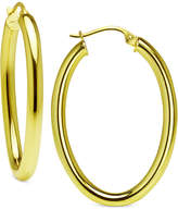 Giani Bernini Polished Hoop Earrings in Sterling Silver, Created for Macy's