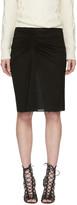 Isabel Marant Black Melia Skirt