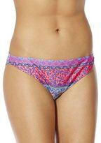 F&F Tile Print Narrow Bikini Briefs, Women's
