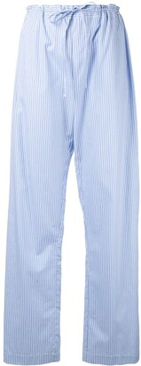 macgraw Truth wide-leg poplin trousers