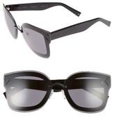 KENDALL + KYLIE Women's Priscilla 65Mm Butterfly Sunglasses - Matte Black/ Matte Red/ Black