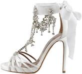Tabitha Simmons Chandelier Crystal Sandal