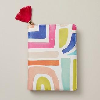 Indigo Paper Refillable Zip Journal Boho Bright Stripes