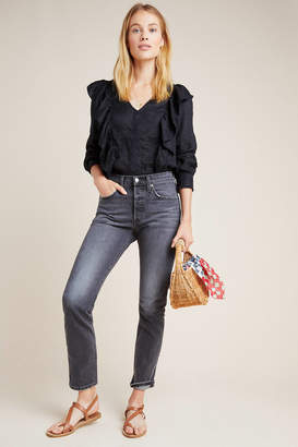 Levi's 501 Ultra High-Rise Skinny Ankle Jeans