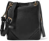 Karl Lagerfeld K/slouchy Leather Tote Bag - Black