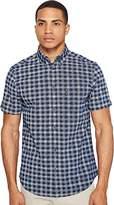 Ben Sherman Men's Short Shirt Modern Check