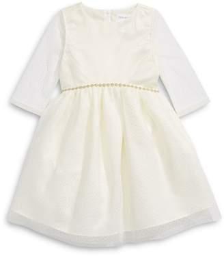 Little Angels Long-Sleeve Little Girl's Tulle Dress