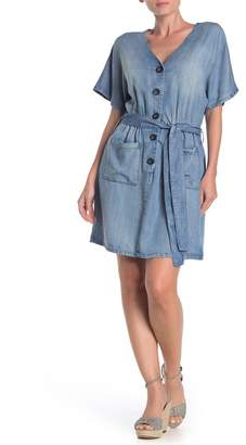 Velvet Heart Gisele Button Up Denim Dress