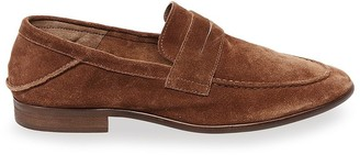 Steve Madden Sliced Tan Suede