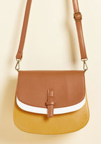 ModCloth I Keep Latte Hours Bag in Goldenrod