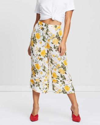 Miss Selfridge Petite Iris Wide-Leg Trousers