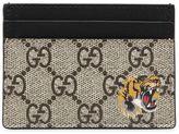 Gucci Tiger Gg Supreme Card Holder