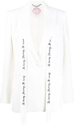 Stella McCartney WATW Annamarie single-breasted blazer
