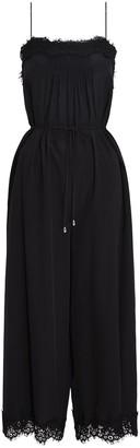 Zimmermann Lace Jumpsuit in Black