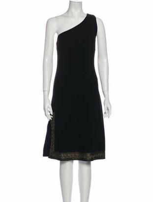 Celine Vintage Midi Length Dress Wool