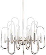 Cyan Champ Elysees Small Chandelier - Chrome