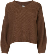 Anrealage v-neck jumper