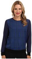 MICHAEL Michael Kors Houndstooth-Print Sweater