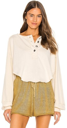 Free People Melodi Henley Top