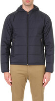 Paul Smith Quilted shell hooded jacket