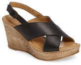 Bella Vita Women's Lea Wedge Sandal