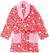 Hello Kitty Letter Sherpa-Collar Robe - Juniors