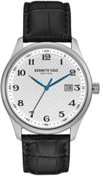 Kenneth Cole New York Men's Three Hand with Date Classic Watch 42mm